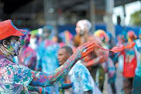 Jouvert in Trinidad & Tobago.