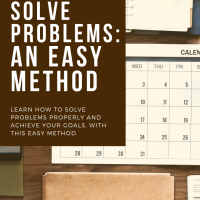 How to Solve Problems: An Easy Method